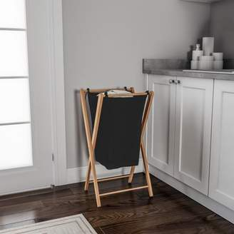 Foldable Bamboo Laundry Hamper - Lightweight and Space Saving by Lavish Home