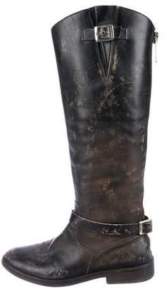 Golden Goose Distressed Boots