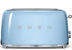 Smeg Tsf02Pbau - 4 Slice Toaster Pastel Blue