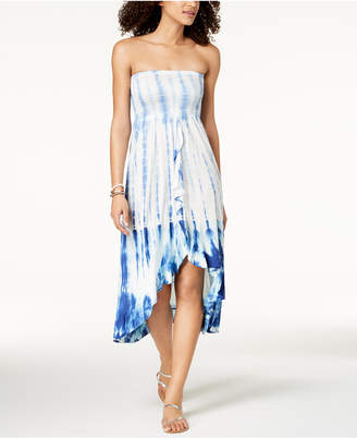 Raviya Tie-Dyed Bandeau Cover-Up Dress