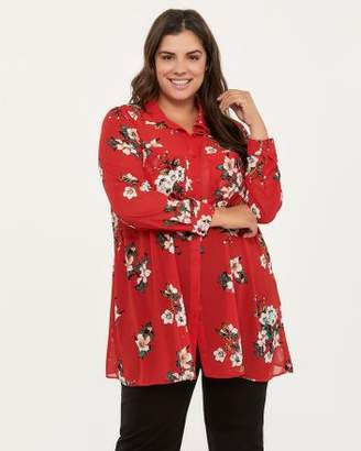 Penningtons Printed Chiffon Blouse - In Every Story