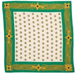 Chanel Gripoix Vintage Silk Scarf