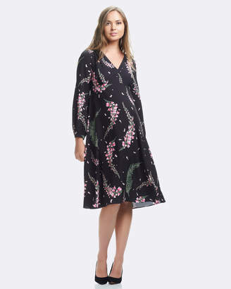 Soon Julianne Long Sleeve Dress