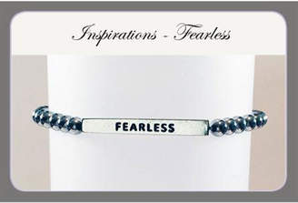 Savvy Designs Fearless Hematite Bracelet