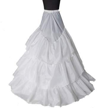 Funnie Petticoats Skirts Slip - Women 2015 A-Line/Ball Gown/Train Dress 001