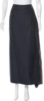 Etro Embellished Silk Midi Skirt