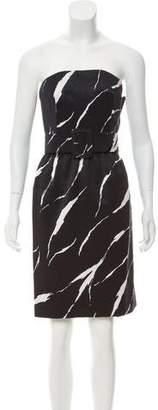 Givenchy Strapless Mini Dress