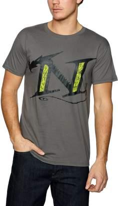 Nemesis 2000AD The Warlock Logo Official Mens New Grey T Shirt