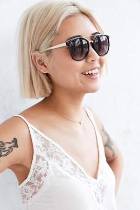 Urban Outfitters Avery Brow Bar Frame Sunglasses $16 thestylecure.com