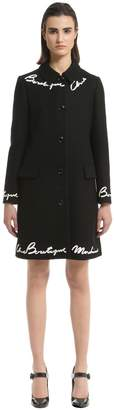 Moschino Chic Boutique Wool Felt Coat