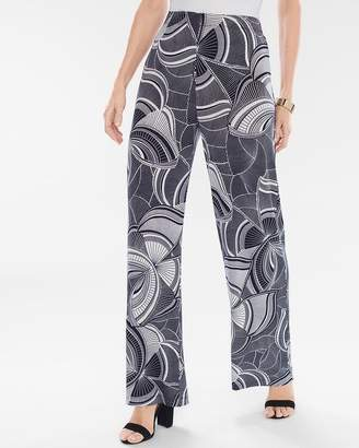 Travelers Classic Graphic Butterfly Palazzo Pants