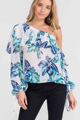 Lush One Shoulder Blouse