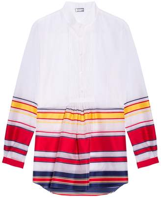 Alexis Mabille Bayadere Striped Tunic
