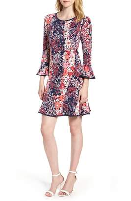 MICHAEL Michael Kors Patch Flower Flounce Dress