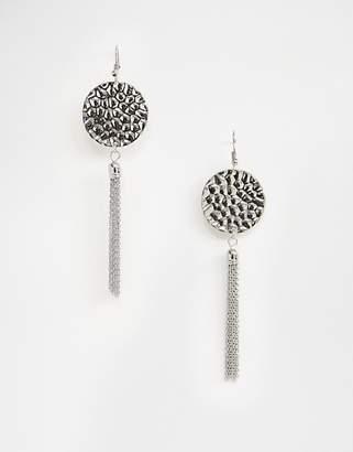 Pieces Dominique tassel earrings