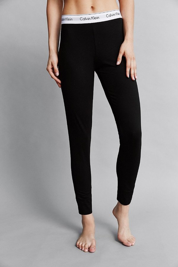 calvin klein classic logo legging shopstyle women. Black Bedroom Furniture Sets. Home Design Ideas