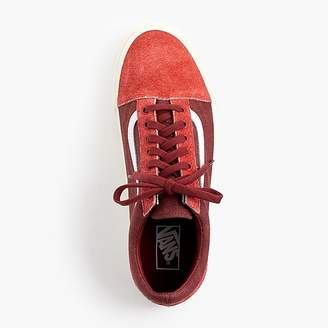 Vans for J.Crew Old Skool sneakers in washed canvas