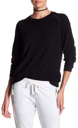 ELEVENPARIS Terry Cloth Sweatshirt $160 thestylecure.com