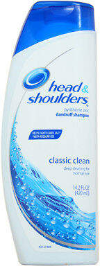 Head & Shoulders Classic Clean for Normal Hair Pyrithione Zinc Dandruff Shampoo