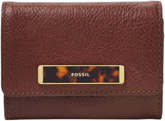 Fossil Small Blake RFID Leather Flap Wallet