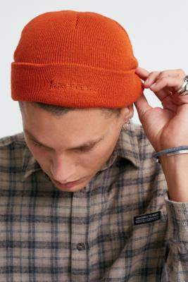 Urban Outfitters Iets Frans... iets frans. Orange Mini Skate Beanie - orange at