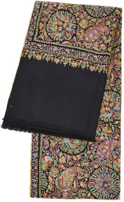 Kashmir Loom Exclusive Embroidered Cashmere Shawl
