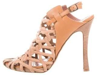 Derek Lam Woven Ankle Strap Sandals