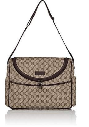 8678c73f00 Gucci GG Supreme Canvas Diaper Bag - Brown
