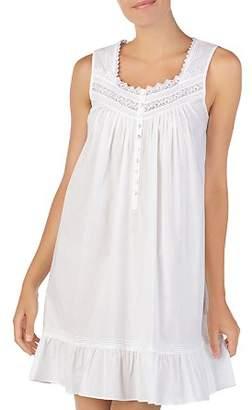 Eileen West Sleeveless Short Cotton Ballet Nightgown