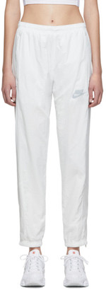 Nike White NSW Re-Issue Track Pants