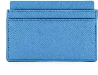 Smythson Panama leather cardholder