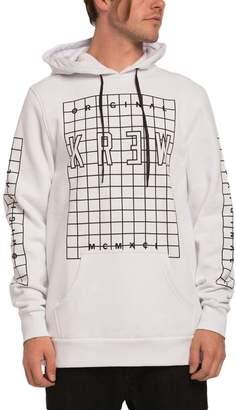 KR3W Men's Lock Grid Pullover Sweatshirts