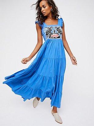 Kuna Maxi Dress by Carolina K at Free People $235 thestylecure.com
