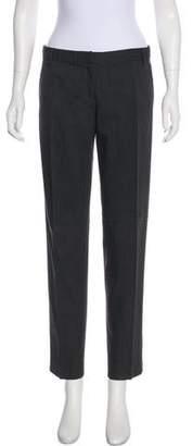Blumarine Mid-Rise Straight-Leg Pants