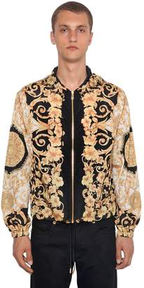 Versace Tech Hibiscus Heritage Hooded Jacket