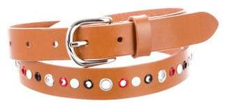 Isabel Marant Leather Grommet Belt w/ Tags
