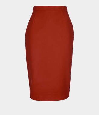 Vivienne Westwood Pencil Skirt Orange