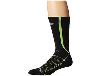 New Balance Over the Calf Reflective Compression Running Socks