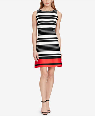 American Living Striped Neoprene Dress $79 thestylecure.com