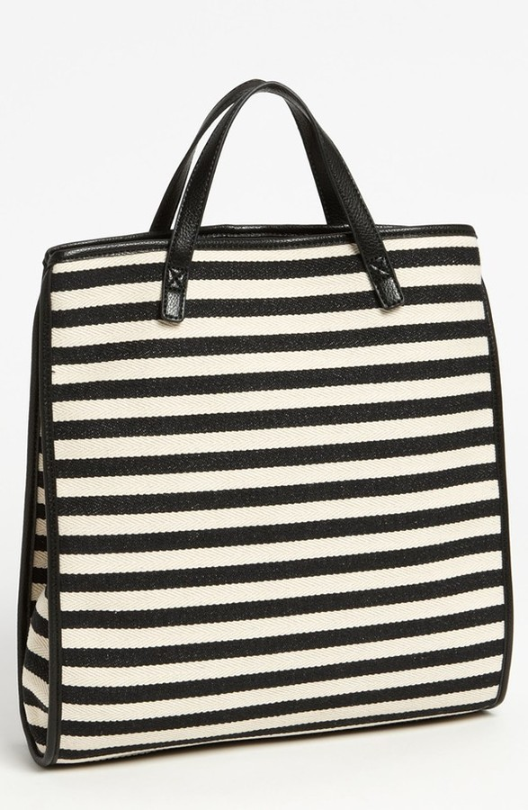 Charlotte Ronson 'Herringbone' Convertible Backpack Tote
