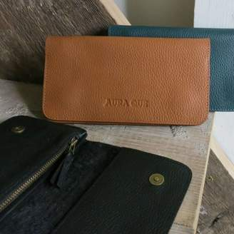 Aura Que Fair Trade Handcrafted Leather Long Wallet