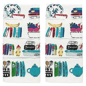 Kate Spade Cookbooks Kitchen Towel Set