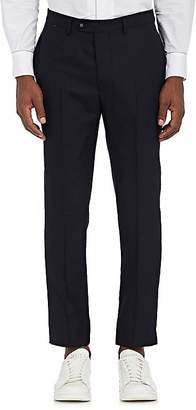 Officine Generale MEN'S WOOL SLIM-FIT TROUSERS