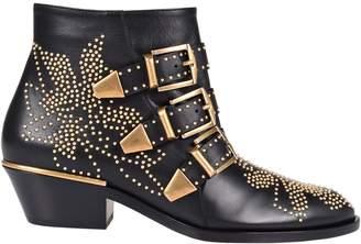 Chloé Studded Ankle Boots