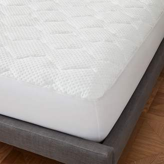 west elm Premium Cooling Down Alternative Mattress Pad