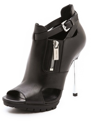Michael Kors Emma Runway Cutout Booties