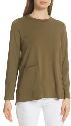 Eileen Fisher Knit Pocket Top
