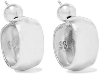 Sophie Buhai - Small Zora Silver Hoop Earrings