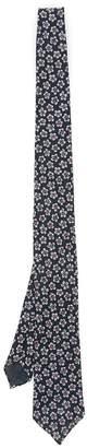 Thomas Mason Soho Tie With Flowers