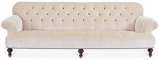 Ralph Lauren Home Indian Cove Sofa - Ivory Velvet